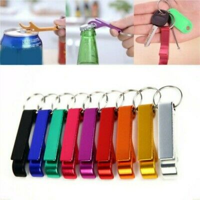 10x Bottle Opener Key Ring Chain Keyring Keychain Metal Beer Bar Tools Claw NICE