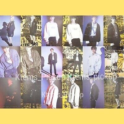 Stray Kids Yellow Wood album 1st page Official Poster * no photocard