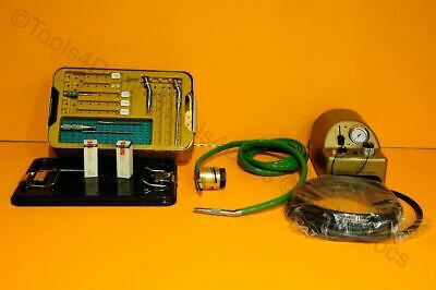 Medtronic Midas Rex Legend Pneumatic Drill Set V01 w/foot-switch and accessories