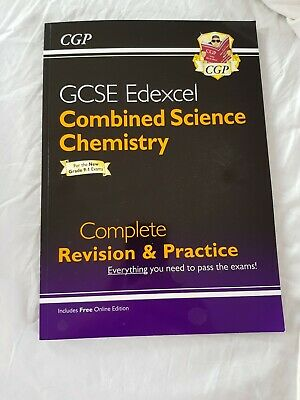 Edexcel gcse 9-1 combined science Chemistry Revision And Practice Book