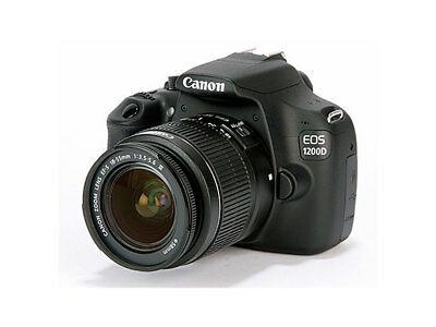 Canon EOS 1200D with lens EFS 18-55 mm 1:3.5-5.6 III