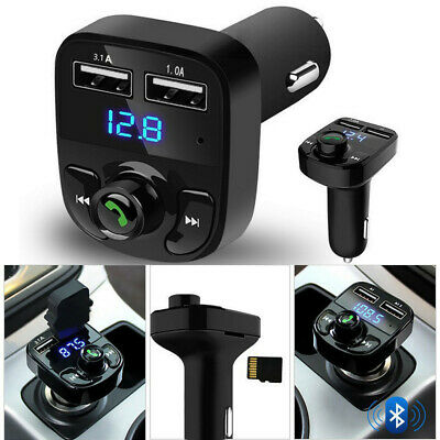 Wireless Bluetooth Handsfree Car Kit FM Transmitter MP3 Player USB Practical