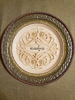 Irish Blessing Plate 8 In.