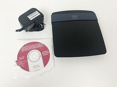 LINKSYS E3200 300 Mbps 4-Port Gigabit Wireless N Router with