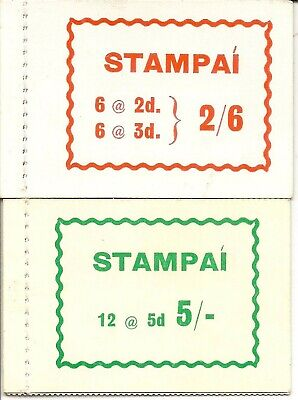Ireland 1966  Booklet Sb 15 &17 Hb13 & 15