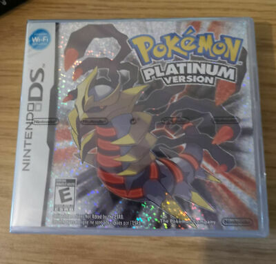 Brand New Sealed: Pokemon Platinum Version Game Nintendo DS PAL RARE!