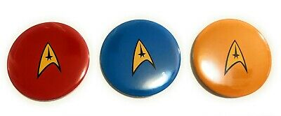 Star Trek Logo LARGE Button Pin Convention Collectible gift Picard series spock