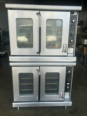 Montague Vectaire EK15 Double Stack Convection Oven 1-Phase 208V-240V Electric