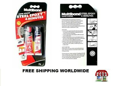 Multibond Steel EPOXY 20g for Metal Wood Masonry Ceramics 4 Minutes Super Strong