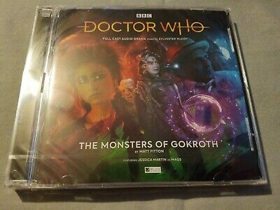 Big Finish Doctor Who Audio 250 The Monsters Of Gokroth NEW