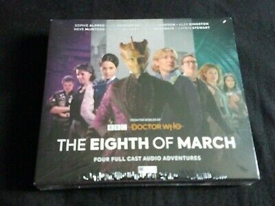 Doctor Who Big Finish Audio The Eighth Of March NEW