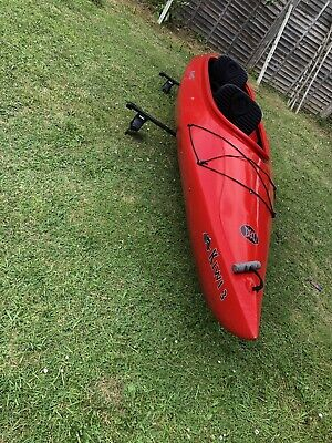 PERCEPTION BLAZE 7 3 River Runner White Water Kayak with