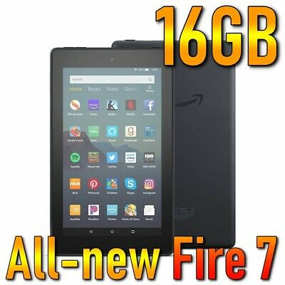 [Brand new] Amazon All-new Fire 7 tablet (9th Generation 2019) 16GB, Wi-Fi, 7in