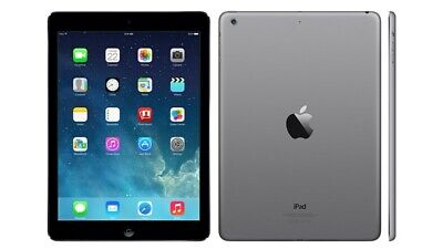 Apple iPad Air 1st Gen. 32GB, Wi-Fi + Cellular (Unlocked), 9.7in - Space Grey