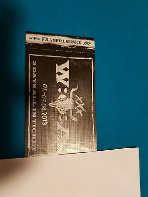 Wacken Ticket 2019 WAO Wacken Open Air  1.-3.August