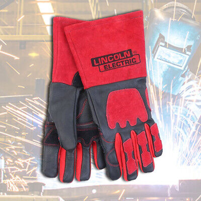 Premium Welding Gloves Lincoln Electric KH962 Nomex lining 100% Kevlar Stitching