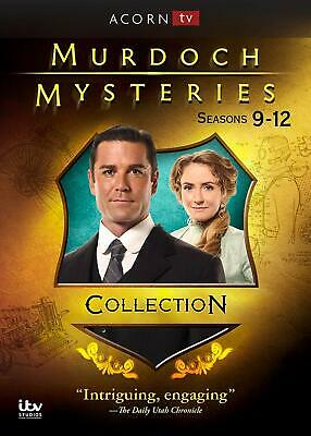 Murdoch Mysteries: Series 9-12 Collection (DVD, 2019, 20-Disc Set) Brand New