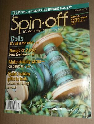 Spin-off magazine winter 2008 dog down unspun caps spinning for weaving
