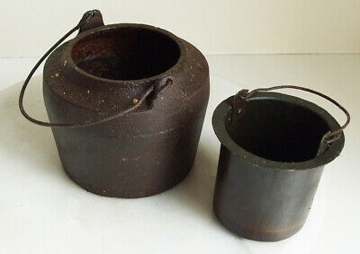W BULLOCK & Co smelting pot FIRE  LEAD  FURNACE UNTESTED no 5