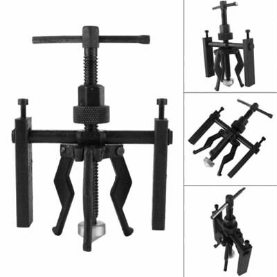 3-Jaw Inner Bearing Puller Car Motorcycle Bushing Remover Extractor Hand Tool UK