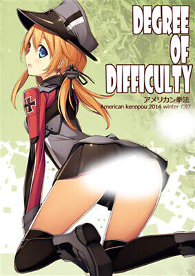 Kancolle Doujinshi (DEGREE OF DIFFICULTY) Anime Manga Artbook Color!