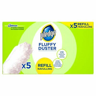 Pledge Fluffy Duster Refills 5 per pack - Free Shipping