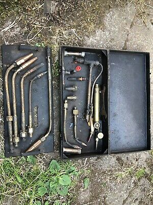 Vintage Set Of Cutting Torches Gas Welding Nozzles