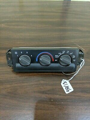 New OEM A//C Heater Control 15-72881 15098964 1998-2005 S10 Jimmy