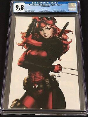 Peter Parker Spectacular Spiderman 1 CGC 9.8 White KRS Mary Jane Virgin Variant