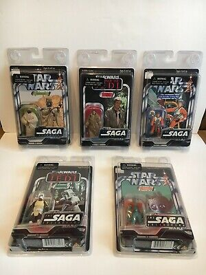 Star Wars The Saga Collection 2006 Lot 5 Figures Vintage Collection Mint