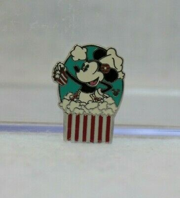 Disney Parks 2013 Hidden Mickey Pin Character Popcorn Labels Minnie Mouse