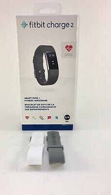 Fitbit Charge 2 Black Heart Rate + Fitness Wristband - it Works -Save over 50 %