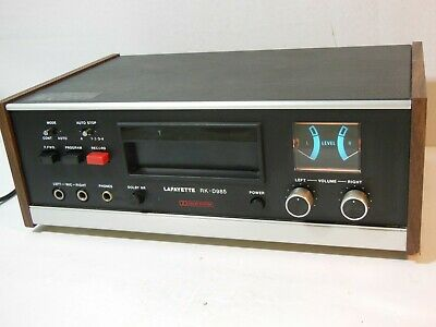RARE! LAFAYETTE RK-D985 8-TRACK PLAYER RECORDING TAPE DECK with DOLBY