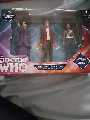 Doctor Who 12th Dr Collector 3 Figure Set Bill Potts Missy NEW