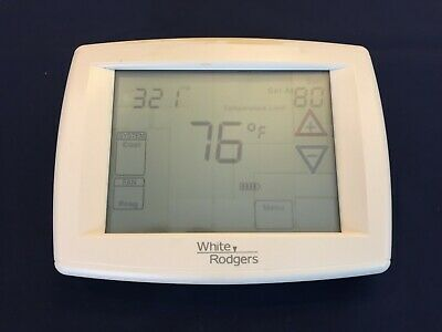 White Rodgers/Emerson 1F95-1277 Touchscreen 7-Day Programmable Thermostat