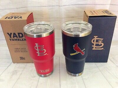 3c396790dcf St. Louis Cardinals YADI Tumbler-Set Of 2 Red & Blue SGA Yadier Molina