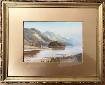 George Trevor signed Original Watercolour Painting LISTED ARTIST