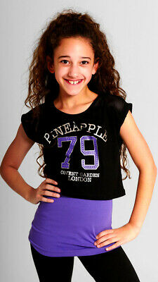 £35 GIRLS PINEAPPLE DANCE SPORT CROP TOP EASTER next AGE 12 - 13 - 14 YEARS