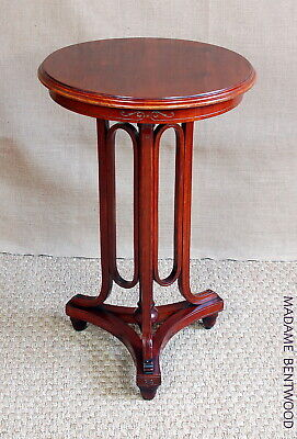 Side Table J & Kohn Early 20th,Bistro Superb Example Home,Pedestal Plant