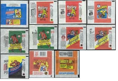(10) OPC Vintage Hockey Single Wrappers: You Pick, Choose From (10) Lot A +BONUS