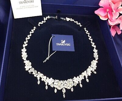 2c9ab3f77a45e AUTHENTIC SWAN SIGNED Swarovski Diapason Large All-Around Necklace 5146731  Nib
