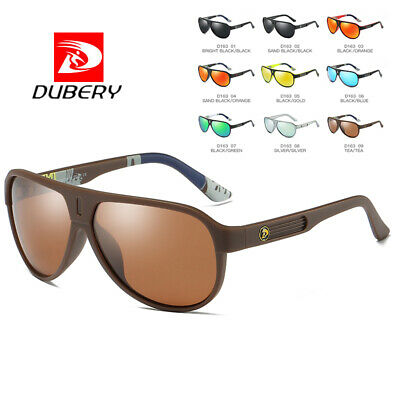 DUBERY Men Women Vintage Polarized Sunglasses Driving Eye Glasses Fishing Shades
