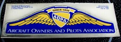 1989 AOPA Aircraft Owners and Pilots Association Decal Sticker 50th Anniversary