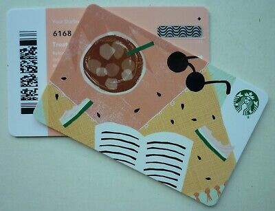 Starbucks Card 2019 Summer Sunglasses 2018 #6168 W/ ' Diamond ' On Back Barcode