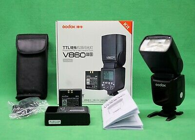 Godox v860ii sony TTL Li-ion Camera Flash