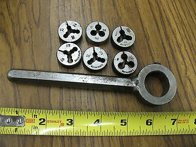 Small Die Wrench  With Dies See Pictures