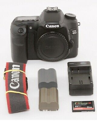 Canon EOS 40D 10.1MP Digital SLR Camera - Body Only - Free Expedited Shipping