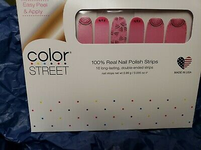 Color Street Nail Polish Strips Melon Dramatic Fun in the Sun Collection