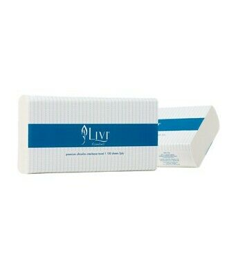 Livi Essentials Compact Hand Towels -1416 (16 x 150 sheets)