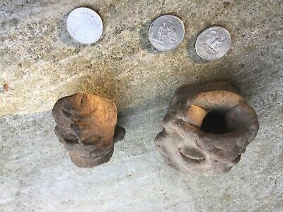 Pre Colombian Mayan artifacts